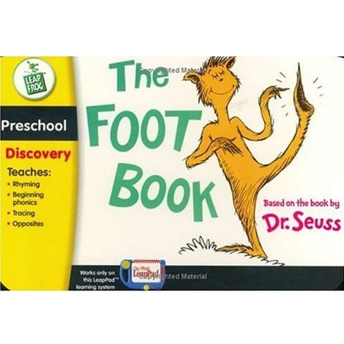 LeapFrog My First LeapPad Educational Book: Dr. Seuss The Foot Book