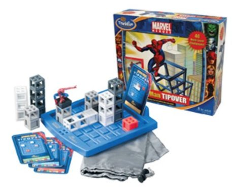 Marvel Heroes Spider-Man Tipover Crate Game: Help Spidey find the pat to the red crate