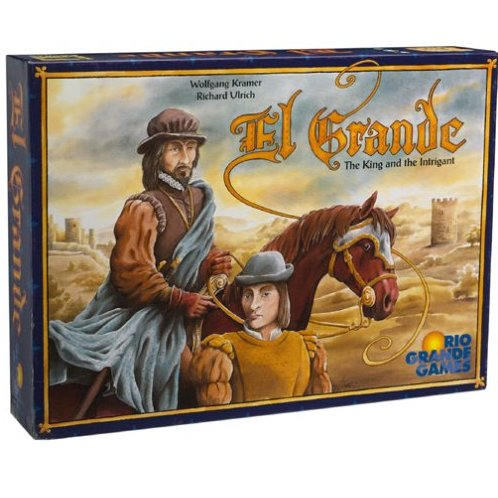 Rio Grande Games El Grande Board game