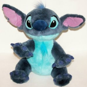 "STITCH as dog 14"" Lilo & Stitch toy Walt Disney"