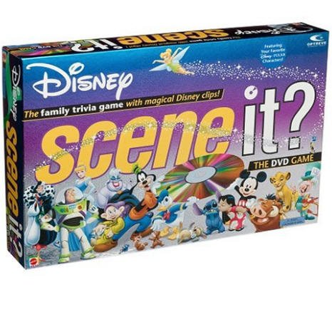 Scene It? Disney Edition DVD Board Game by Mattel