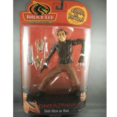 Bruce Lee - Shih Kien As Han Action Figure Enter The Dragon 2000