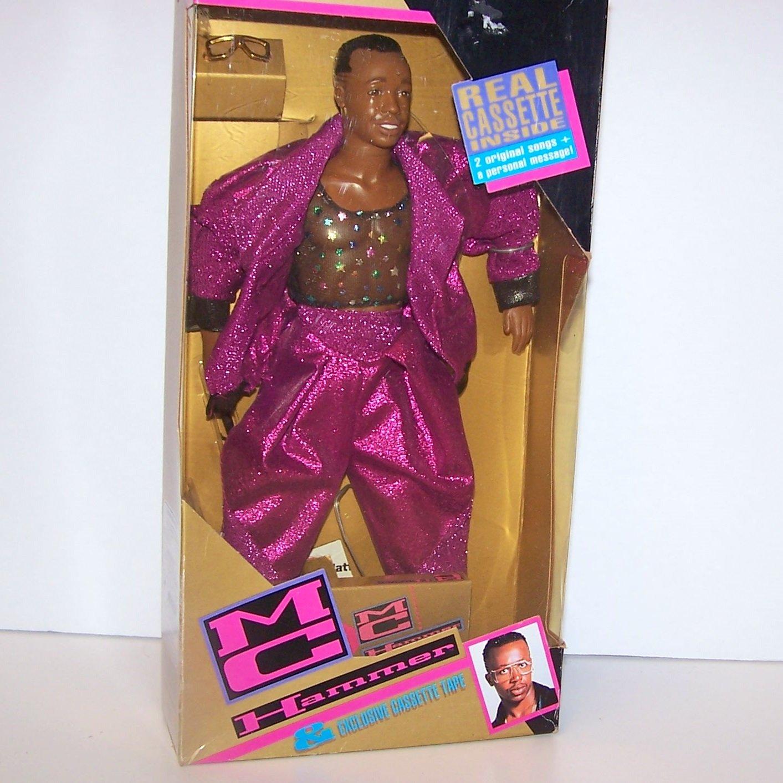 MC Hammer Doll & Exclusive Cassette Tape 1991