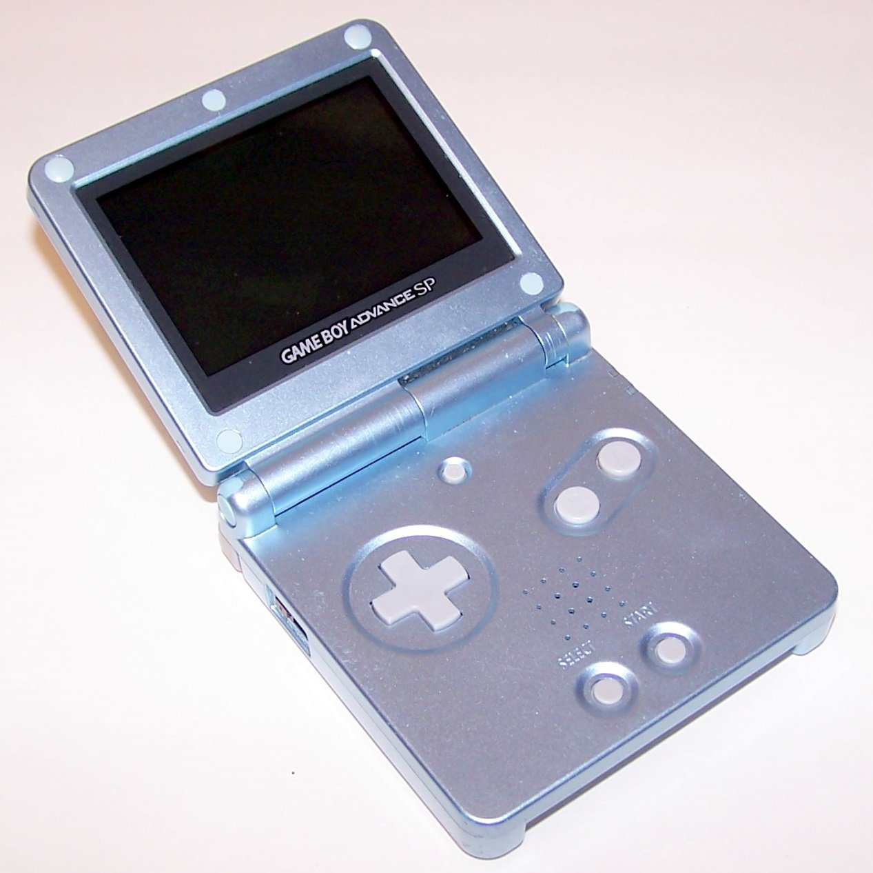 Nintendo Game Boy Advance SP Pearl Blue GBA SP