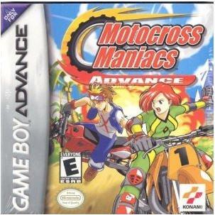 Motocross Maniacs Advance Nintendo Game boy Advance