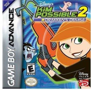 Disney's Kim Possible 2 Drakken Demise Nintendo Game boy Advance