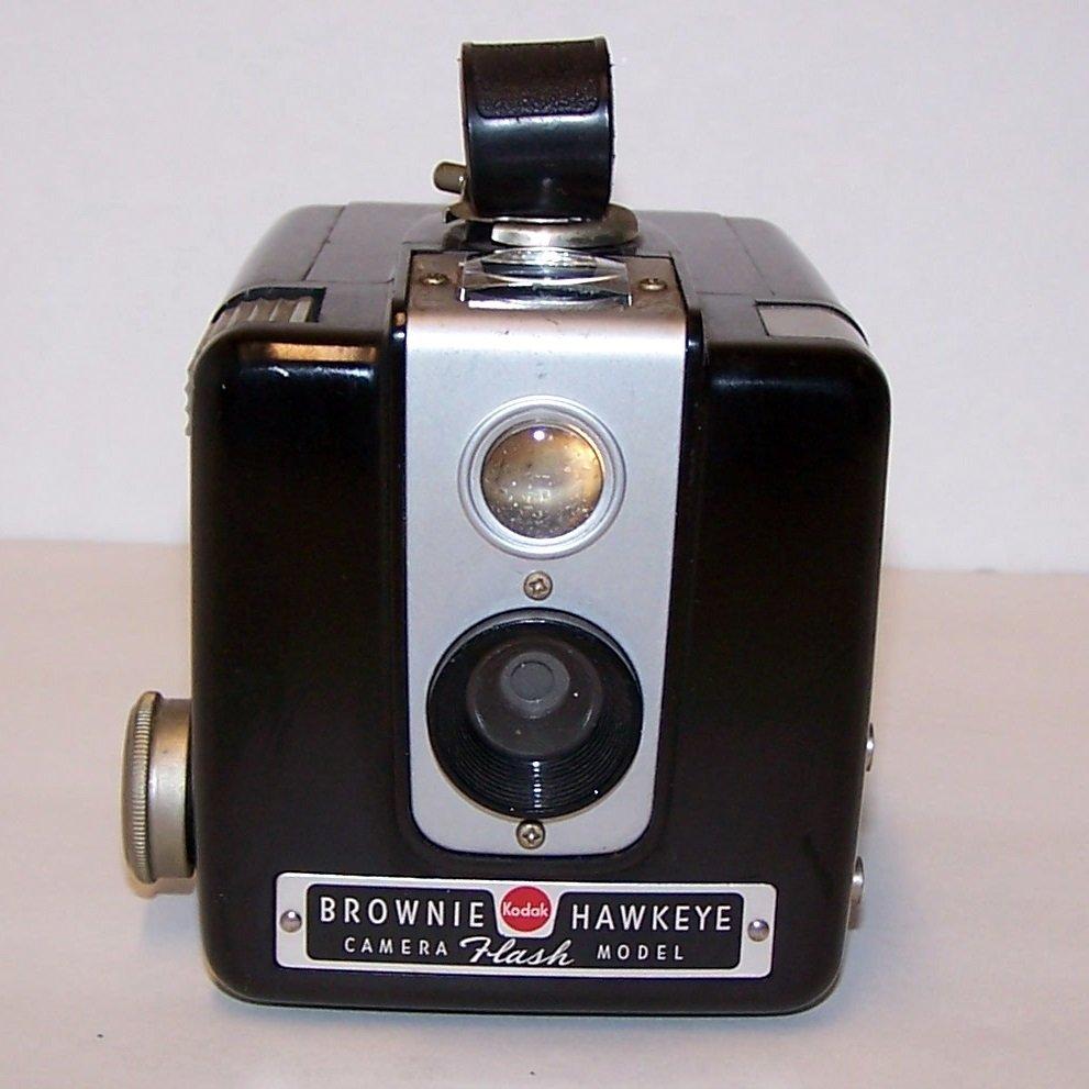 Vintage Kodak Hawkeye Brownie Flash Model