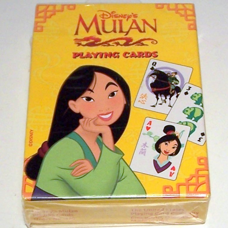 Mulan Playing Cards