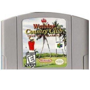 Waialae Country Club N64 Nintendo 64 Game Cartridge