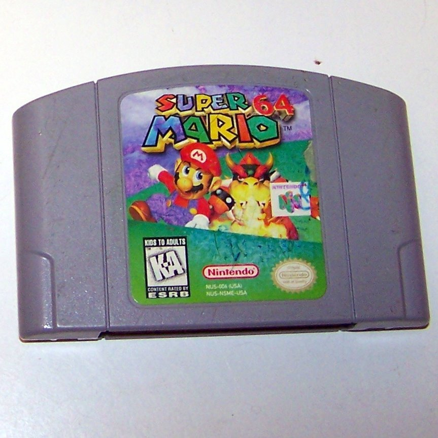 Super Mario 64 Game ~ N64 Nintendo 64 Game Cartridge