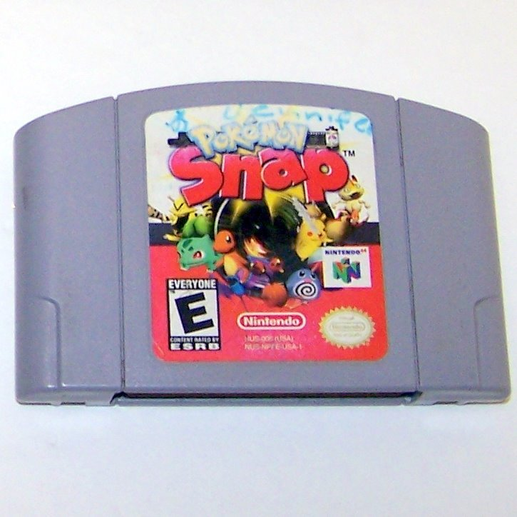 PokeMon Snap Game Cartridge and Instructions ~ N64 Nintendo 64