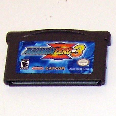 Mega man Zero 3 Nintendo Game boy Advance