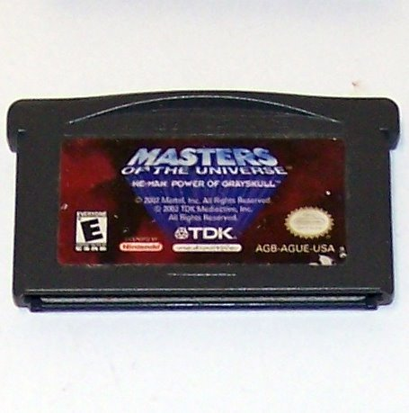 Masters of the Universe: He-Man: Power of Greyskull Nintendo Game boy Advance cartridge