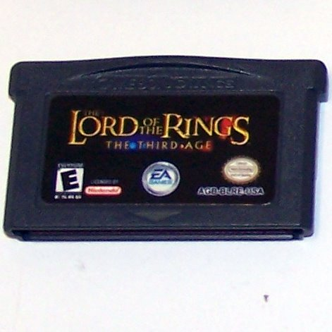 The Lord of the Rings The Third Age Nintendo Game boy Advance Cartridge