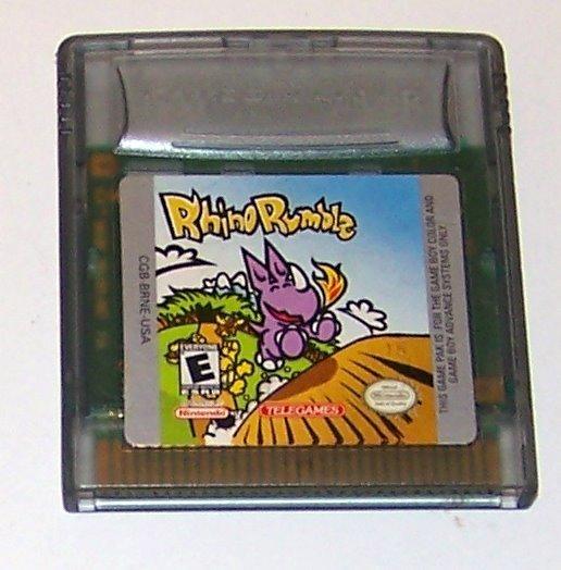Rhino Rumble Nintendo Game boy Color cartridge