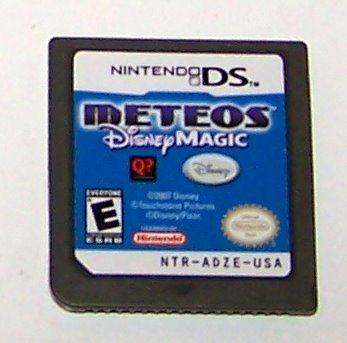 Meteos  Disney Magic Nintendo DS cartridge
