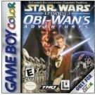 Star Wars Episode I: Obi Wan's Adventures Game boy Color cartridge