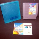 Adventures of LOLO 1 Original 8-bit Nintendo NES Game Cartridge