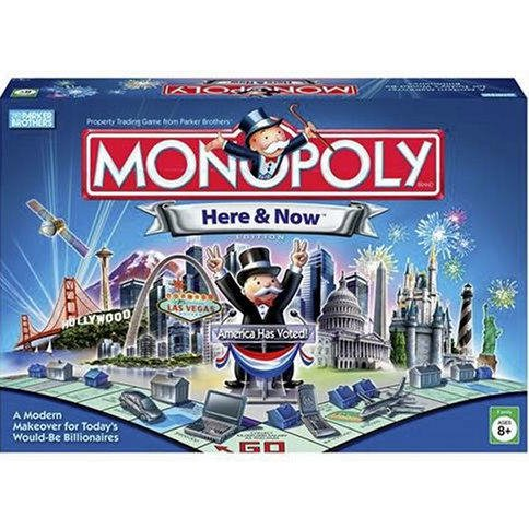 Monopoly Here & Now Limited Edition by Hasbro