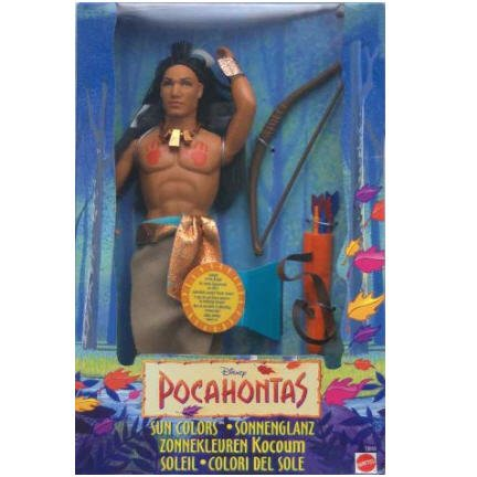 Sun Colors Kocoum doll from Disney's Pocahontas by Mattel