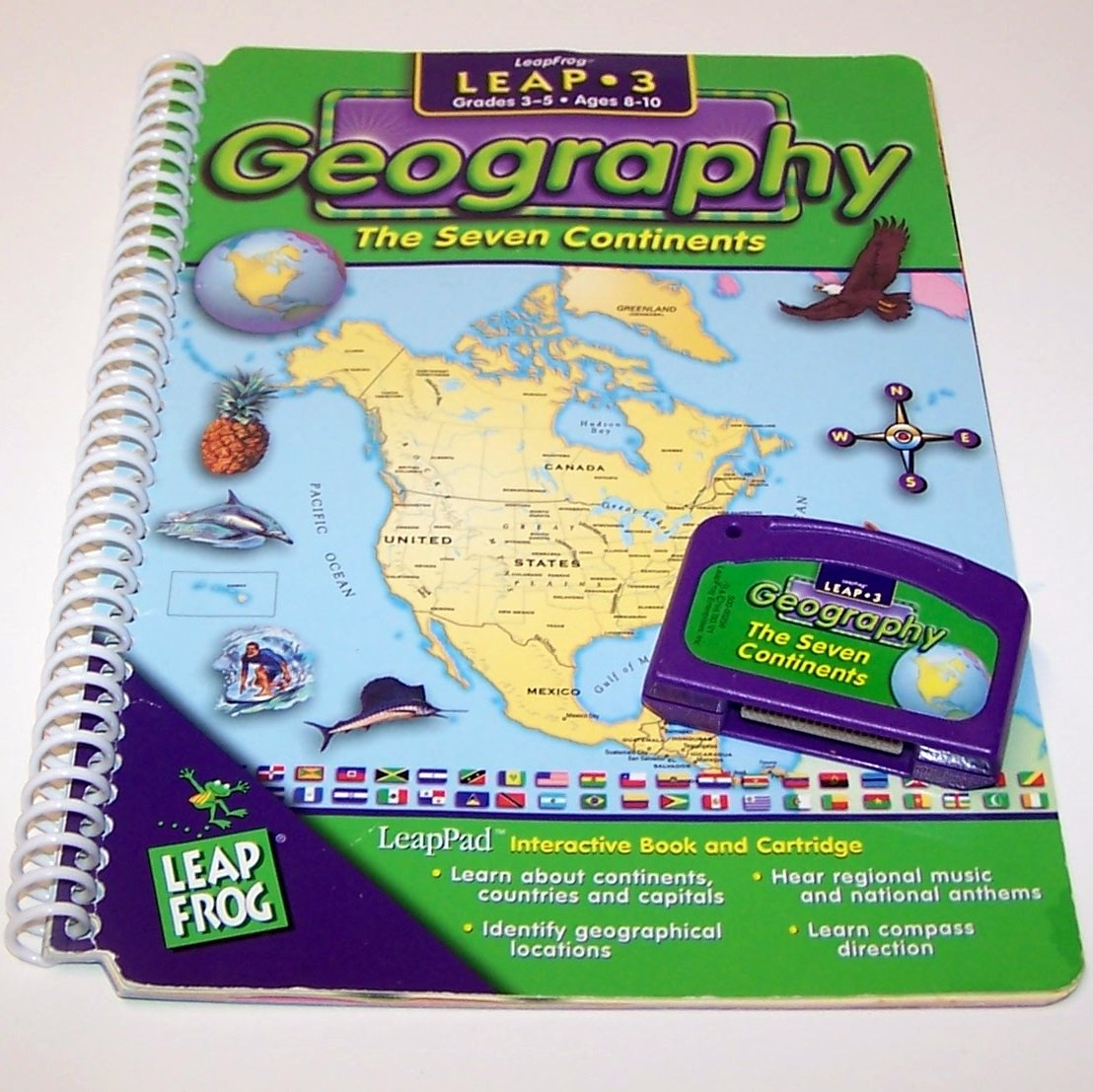 LeapPad Leap 3 Interactive Geography The Seven Continents