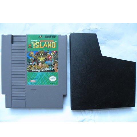 Adventure Island Original 8-bit Nintendo NES Game Cartridge with dustcover