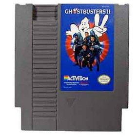 Ghostbusters II Original 8-bit Nintendo NES Game Cartridge