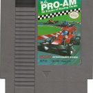 R.C. Pro Am Original 8-bit Nintendo NES Game Cartridge - Box - Instructions