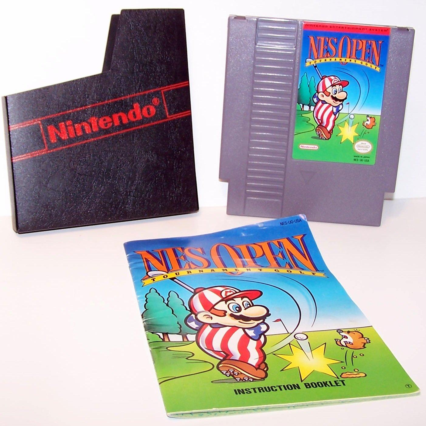 Nes Open Tournament Golf  Original 8-bit Nintendo NES Game Cartridge