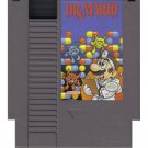 Dr. Mario Original 8-bit Nintendo NES Game Cartridge