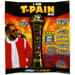 I Am T-Pain Microphone Gold ProTunes