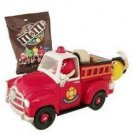Official Limited Edition M&M Firetruck Candy Dispenser