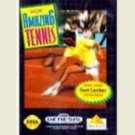 David Crane's Amazing Tennis Sega Genesis Game COMPLETE