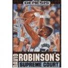 David Robinson's Supreme Court Sega Genesis Game COMPLETE
