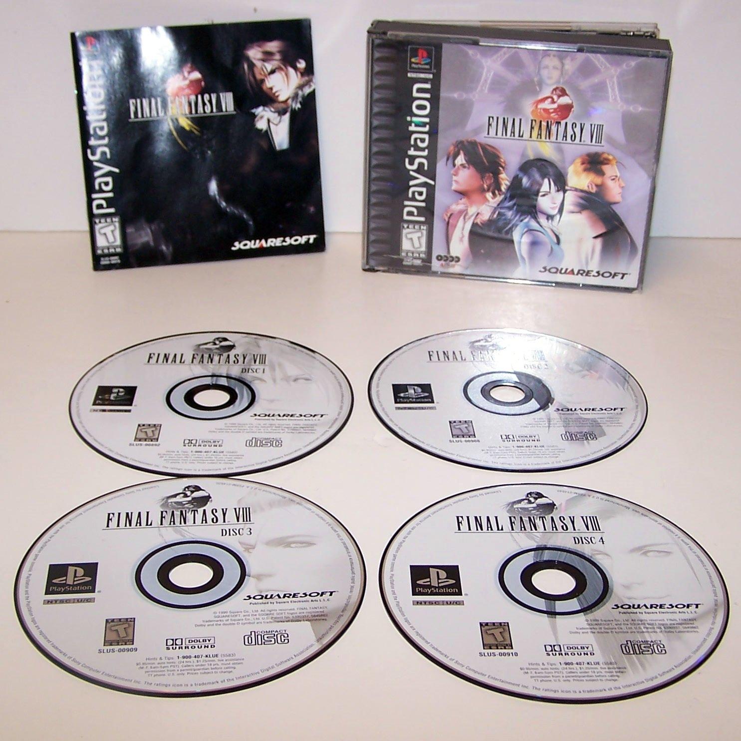Final Fantasy VIII  (Playstation) PS1 PS2
