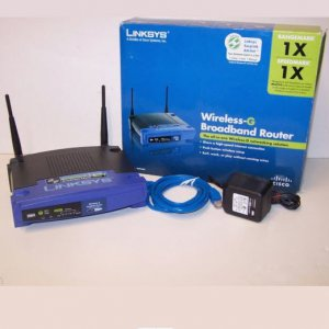 LINKSYS Wireless-G Broadband Router WRT54G V5