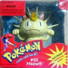 Pokemon Squirtle #52 Meowth with  Electronic Voice Figure