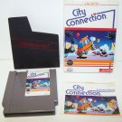 City Connection Original 8-bit Nintendo NES Game Cartridge COMPLETE RESEALED