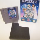 Beetlejuice Original 8-bit Nintendo NES Game Cartridge in Box