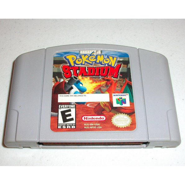 Pokemon Stadium ~ N64 Nintendo 64 game cartridge