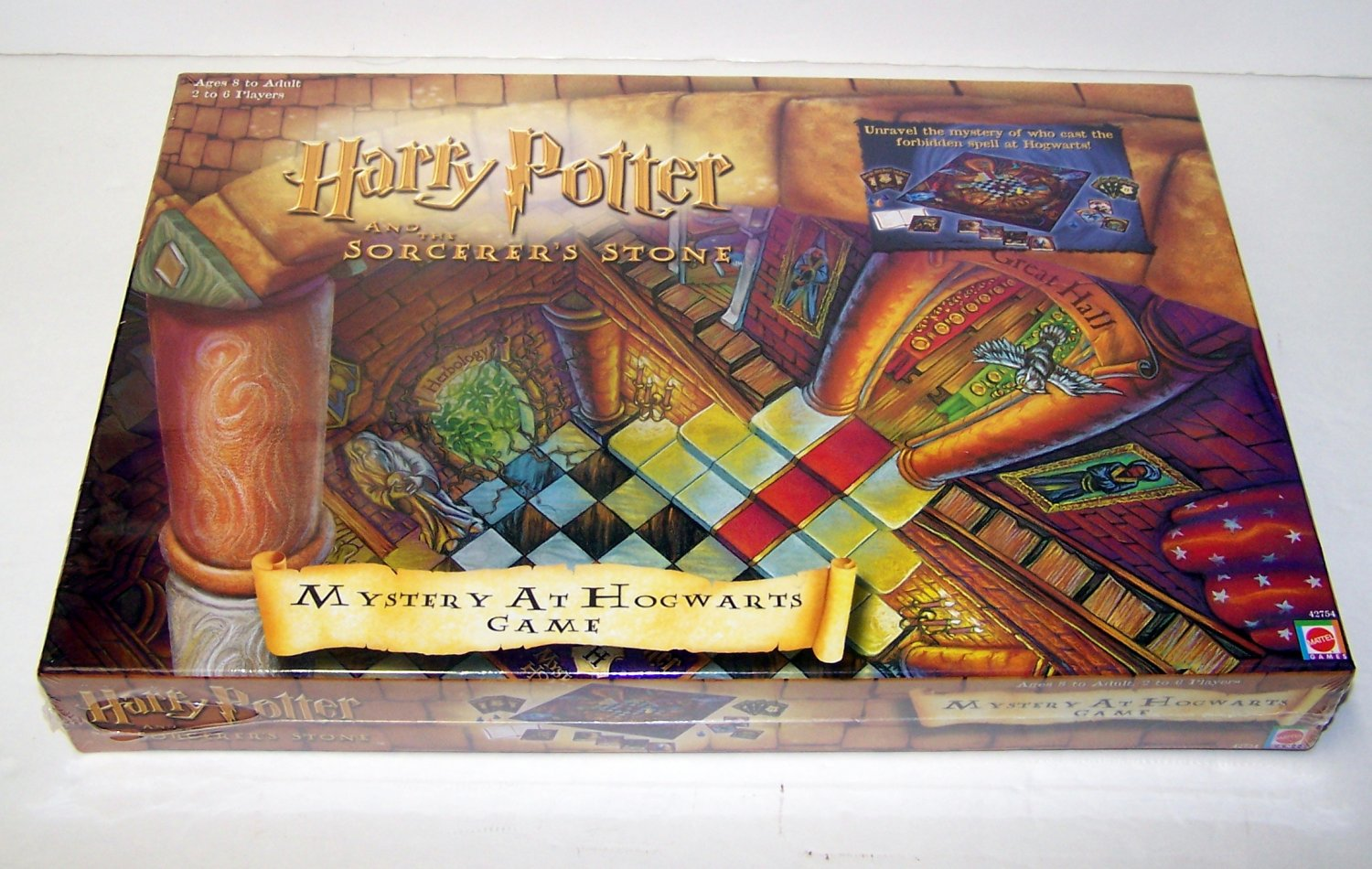Mattel 2001 HARRY POTTER And The Sorcerer's Stone MYSTERY AT HOGWARTS Game