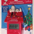 Peanuts Snoopy's Countdown to Christmas Digital Holiday Tree Ornament