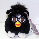 Furby Buddies - Non-talking Black with white feet BROWN Eyes