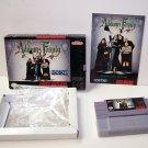 The Adams Family Super Nintendo Game