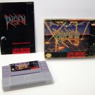 Raiden Trad Super Nintendo Game