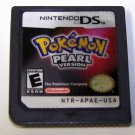 Pokemon Pearl Version Nintendo DS cartridge