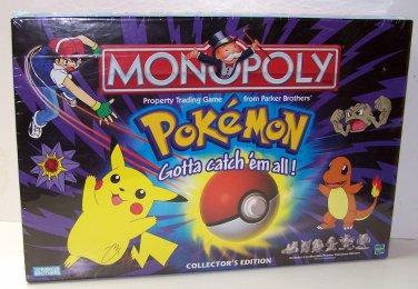 Pokemon Monopoly by Hasbro PEWTER POKE'MON MOVERS