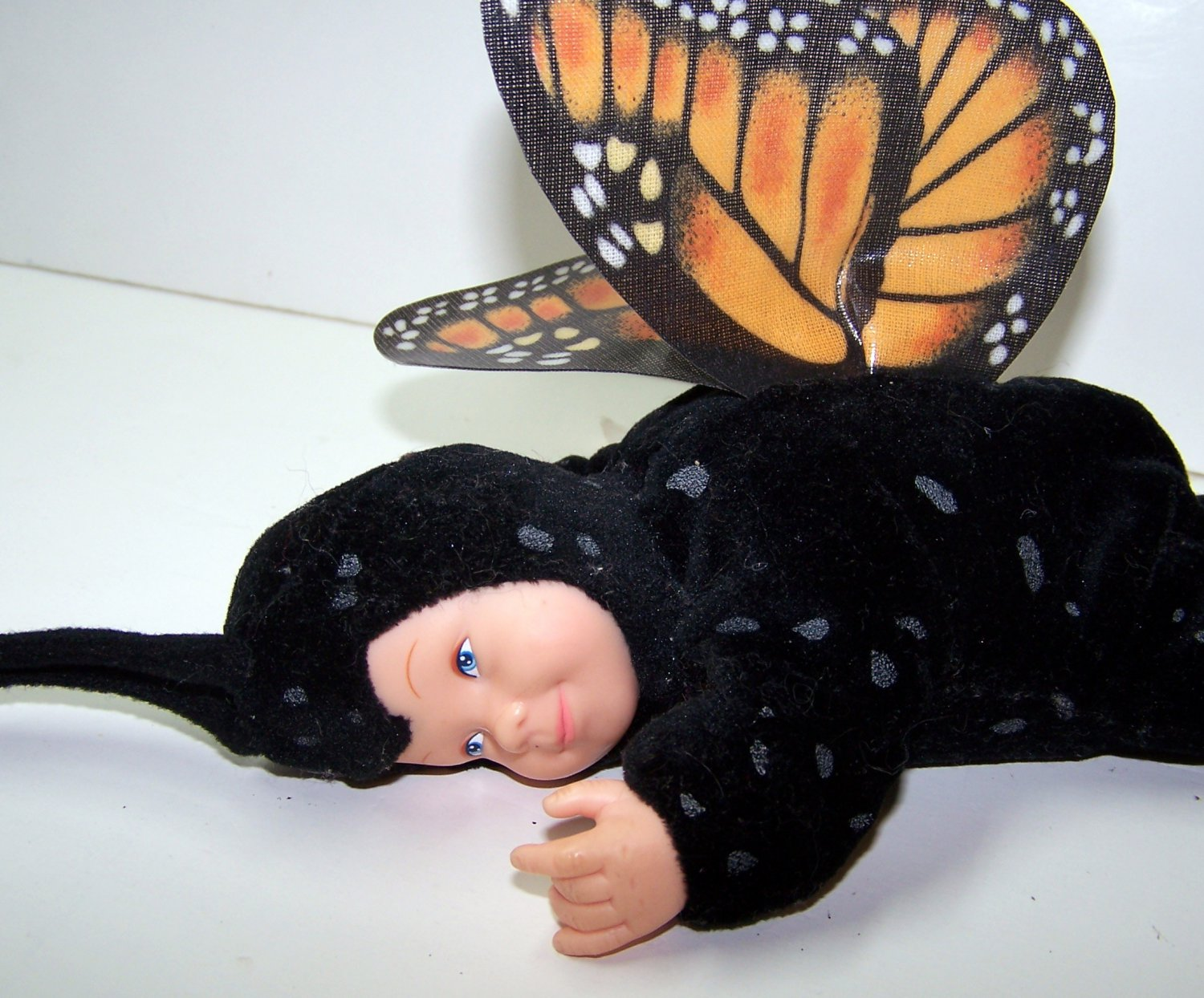 Anne Geddes Baby Butterflies Black Bean Filled Collection by Unimax Toy