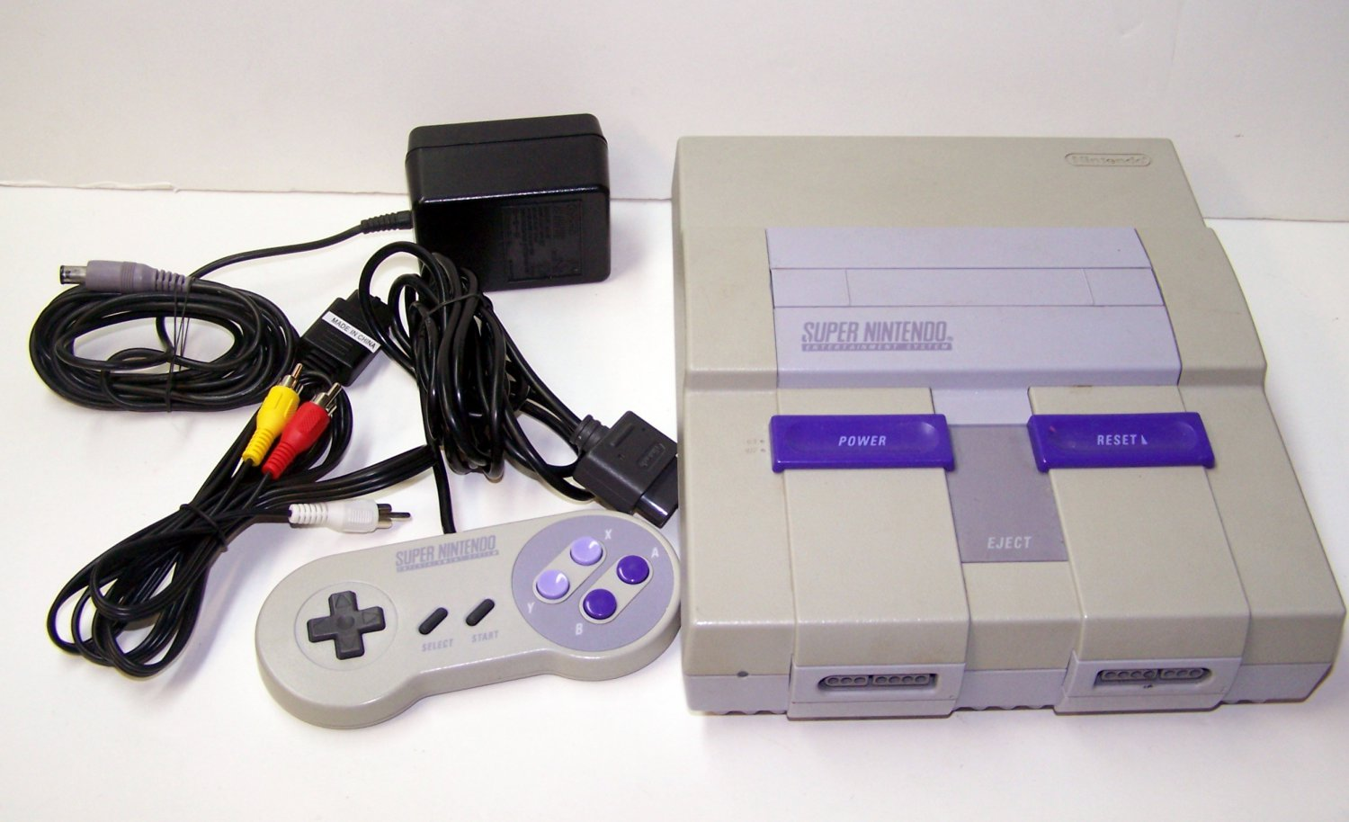 Super Nintendo Game console System SNES