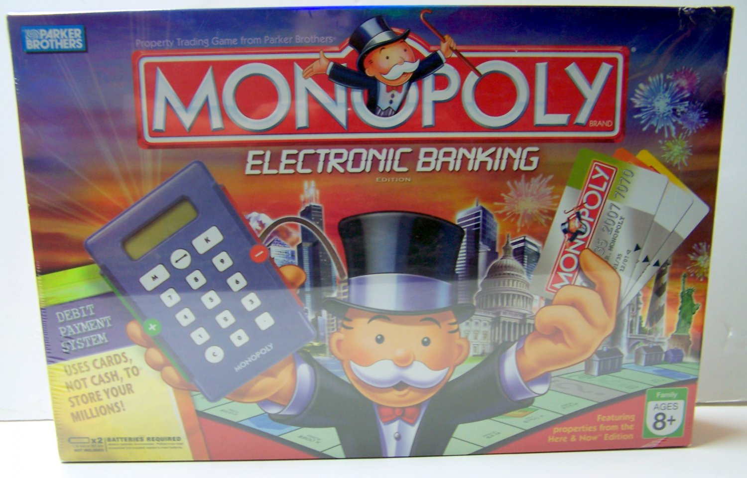 Monopoly Electronic Banking Edition Hasbro Parker Bros With Debit Cards
